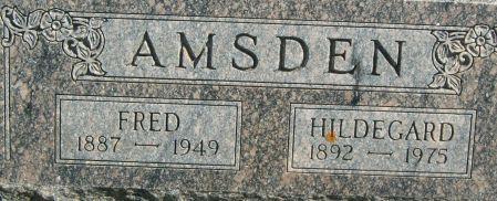 AMSDEN, FRED - Clayton County, Iowa | FRED AMSDEN
