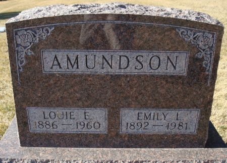 AMUNDSON, LOUIE E. - Clayton County, Iowa | LOUIE E. AMUNDSON