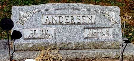 ANDERSEN, DR. H. M. - Clayton County, Iowa   DR. H. M. ANDERSEN