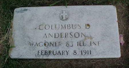 ANDERSON, COLUMBUS - Clayton County, Iowa | COLUMBUS ANDERSON