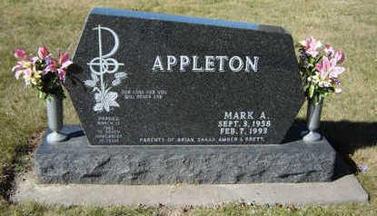 APPLETON, MARK A. - Clayton County, Iowa | MARK A. APPLETON