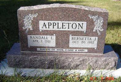 APPLETON, RANDALL L. - Clayton County, Iowa | RANDALL L. APPLETON
