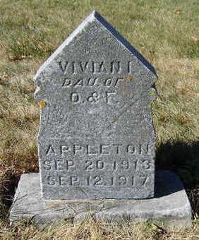 APPLETON, VIVIAN I. - Clayton County, Iowa | VIVIAN I. APPLETON