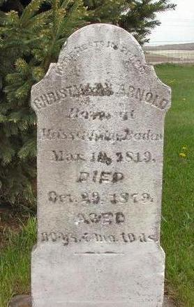 ARNOLD, CHRISTMANN - Clayton County, Iowa | CHRISTMANN ARNOLD