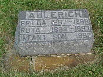 AULERICH, FRIEDA - Clayton County, Iowa | FRIEDA AULERICH