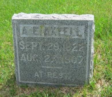 AXTELL, AUGUSTUS ELBRIDGE - Clayton County, Iowa | AUGUSTUS ELBRIDGE AXTELL