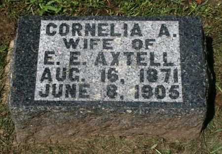 AXTELL, CORNELIA A. - Clayton County, Iowa | CORNELIA A. AXTELL