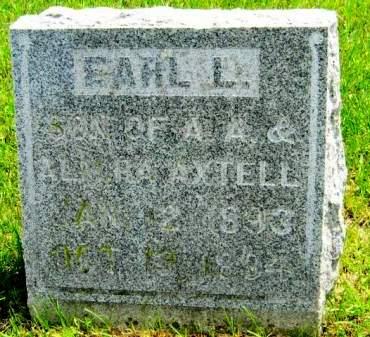 AXTELL, EARL L - Clayton County, Iowa | EARL L AXTELL