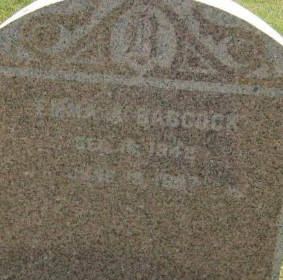 BABCOCK, EMMA A. - Clayton County, Iowa | EMMA A. BABCOCK