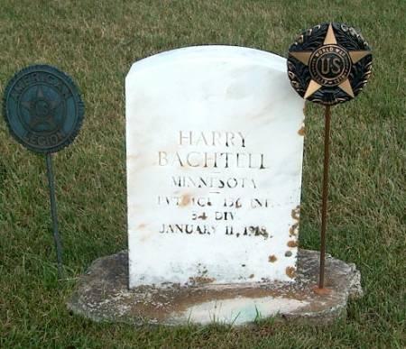 BACHTELL, LELAND 'HARRY' - Clayton County, Iowa | LELAND 'HARRY' BACHTELL