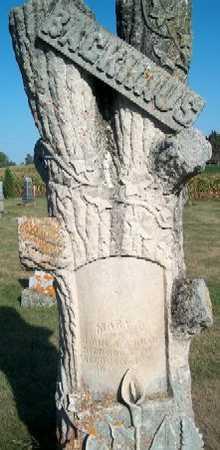 BACKHAUS, MARY D. - Clayton County, Iowa   MARY D. BACKHAUS