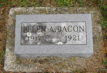 BACON, ELLEN A. - Clayton County, Iowa | ELLEN A. BACON