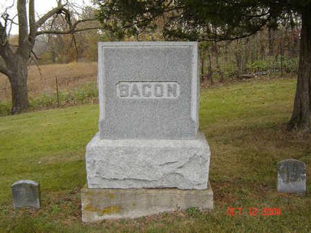 BACON, ORAN - Clayton County, Iowa | ORAN BACON