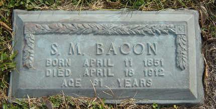BACON, SYLVESOR M. - Clayton County, Iowa | SYLVESOR M. BACON