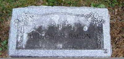 BACON, WILLIAM E. - Clayton County, Iowa   WILLIAM E. BACON