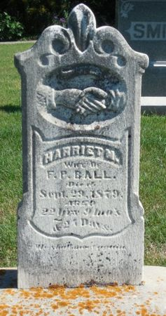 BALL, HARRIET M. - Clayton County, Iowa | HARRIET M. BALL