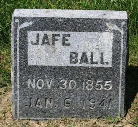 BALL, JAFE - Clayton County, Iowa   JAFE BALL