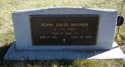 BANNER, JOHN DAVID - Clayton County, Iowa | JOHN DAVID BANNER