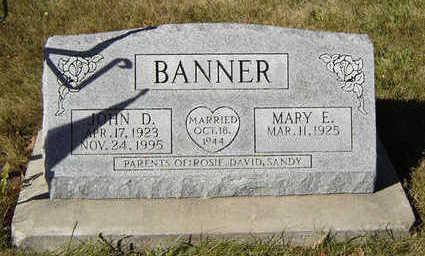 BANNER, JOHN D. - Clayton County, Iowa | JOHN D. BANNER