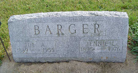 BARGER, JENNIE L. - Clayton County, Iowa | JENNIE L. BARGER