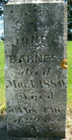 BARNES, JONES - Clayton County, Iowa | JONES BARNES
