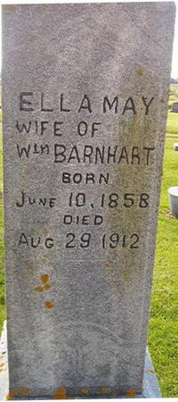 BARNHART, ELLA MAY - Clayton County, Iowa   ELLA MAY BARNHART