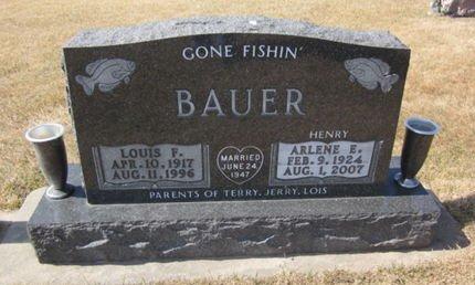 BAUER, ARLENE E. - Clayton County, Iowa | ARLENE E. BAUER