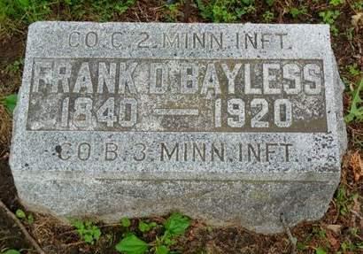 BAYLESS, FRANK D. - Clayton County, Iowa | FRANK D. BAYLESS