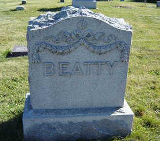 BEATTY, FAMILY MONUMENT - Clayton County, Iowa   FAMILY MONUMENT BEATTY