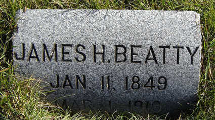 BEATTY, JAMES HILL - Clayton County, Iowa | JAMES HILL BEATTY