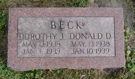 BECK, DONALD D. - Clayton County, Iowa | DONALD D. BECK