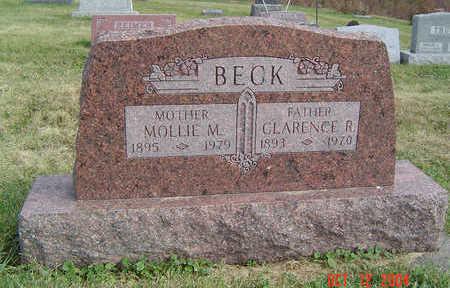 BECK, MOLLIE M. - Clayton County, Iowa | MOLLIE M. BECK