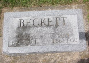 BECKETT, MAY - Clayton County, Iowa   MAY BECKETT