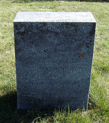 BEHLING, NANCY M. - Clayton County, Iowa   NANCY M. BEHLING