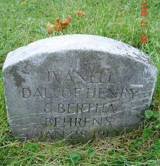 BEHRENS, IVANELL - Clayton County, Iowa | IVANELL BEHRENS