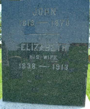 BERNHARD, ELIZABETH - Clayton County, Iowa | ELIZABETH BERNHARD