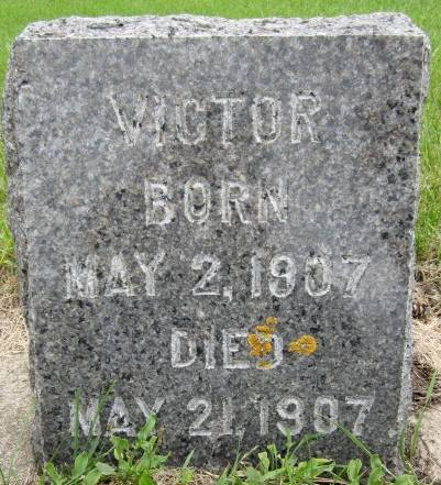 BLAHA, VICTOR - Clayton County, Iowa   VICTOR BLAHA
