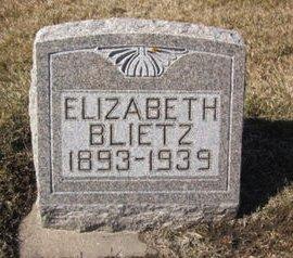 BLIETZ, ELIZABETH - Clayton County, Iowa   ELIZABETH BLIETZ