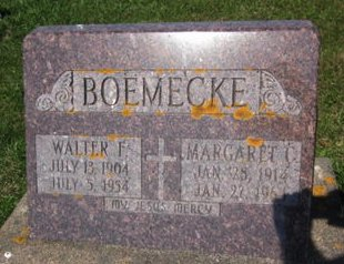 BOEMECKE, MARGARET C. - Clayton County, Iowa | MARGARET C. BOEMECKE
