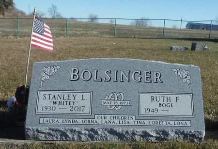 BOLSINGER, STANLEY L. 'WHITEY' - Clayton County, Iowa   STANLEY L. 'WHITEY' BOLSINGER