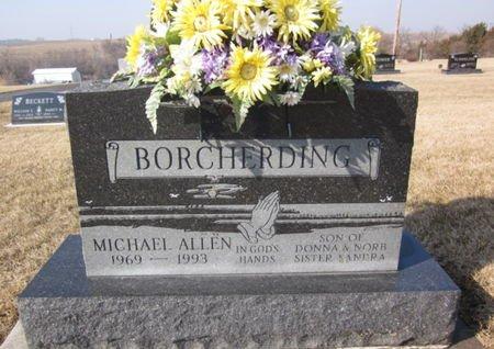 BORCHERDING, MICHAEL ALLEN - Clayton County, Iowa   MICHAEL ALLEN BORCHERDING