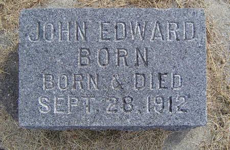 BORN, JOHN EDWARD - Clayton County, Iowa   JOHN EDWARD BORN