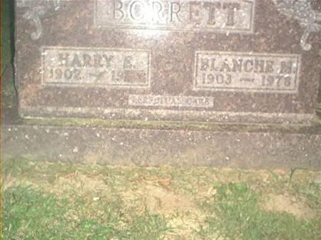 BORRETT, HARRY E. & BLANCHE M. - Clayton County, Iowa | HARRY E. & BLANCHE M. BORRETT