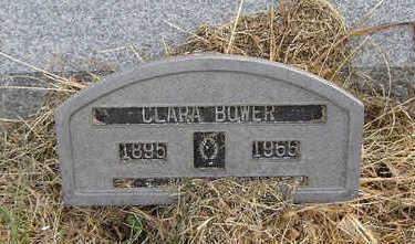 BOWER, CLARA - Clayton County, Iowa   CLARA BOWER