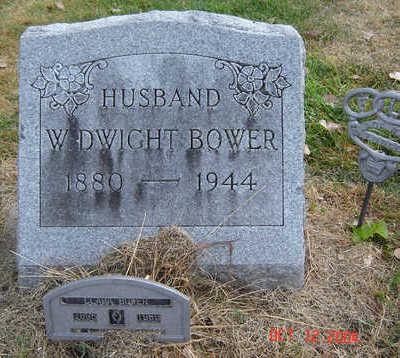 BOWER, W. DWIGHT - Clayton County, Iowa | W. DWIGHT BOWER