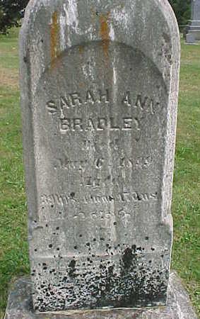 BRADLEY, SARAH ANN - Clayton County, Iowa | SARAH ANN BRADLEY