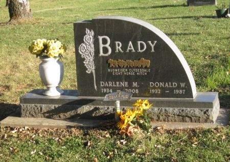 BRADY, DONALD W - Clayton County, Iowa | DONALD W BRADY