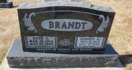 BRANDT, HAROLD H. - Clayton County, Iowa | HAROLD H. BRANDT