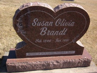BRANDT, SUSAN OLIVIA - Clayton County, Iowa   SUSAN OLIVIA BRANDT