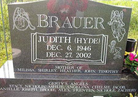 HYDE BRAUER, JUDITH - Clayton County, Iowa | JUDITH HYDE BRAUER